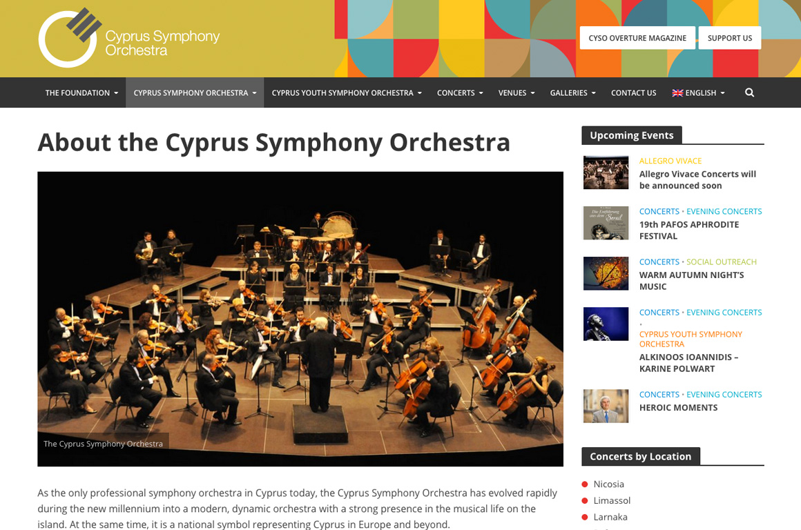 CYSO - Cyprus Symphony Orchestra
