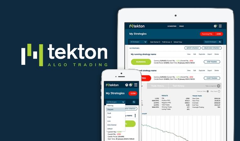 Tekton Algo trading